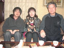 滋賀県甲賀市 玉川様 / マロちゃん  犬種:ミニチュアダックス・チワワのMIX