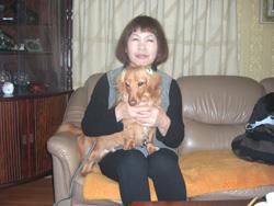 京都府八幡市 北村様/コナンちゃん 犬種:ミニチュア・ダックスフンド