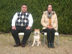 京都市山科区 志賀様/次郎ちゃん 犬種:柴犬
