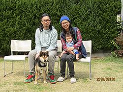大阪府大阪市西区 井上様/大福ちゃん 犬種・柴犬 7歳